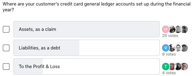 Credit Card Accounting General Ledger